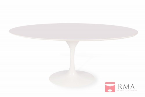 Mesa Saarinen Jantar Oval Nano Glass
